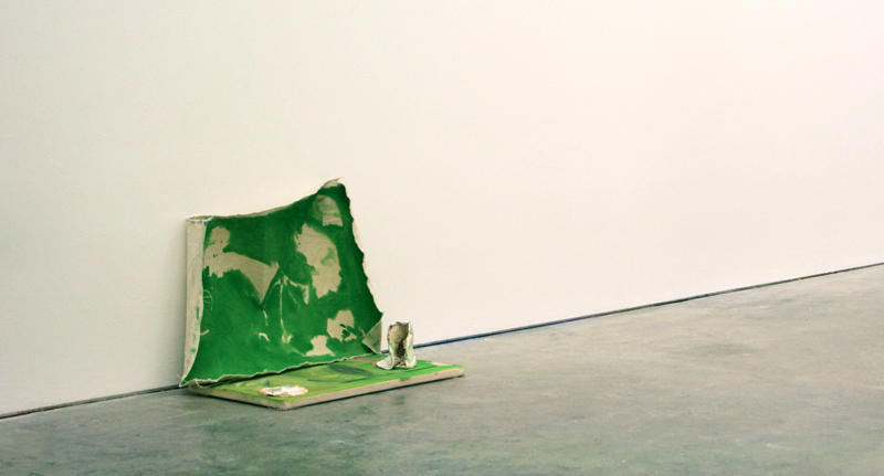 Console, 2014, Oil & gesso on canvas, Dimensions variable